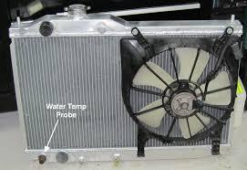 radiatornewfan jpg main fan fan switch probe mounted