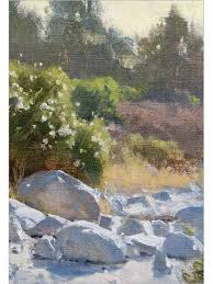 artist daily work mastering plein air in oil with frank serrano