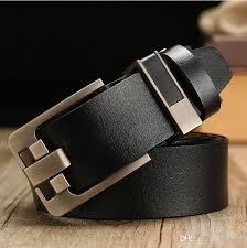 free 01 retro leather wide leather belt leather belt pin buckle casual wild belt men s
