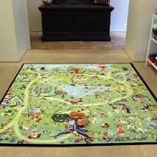 kids rug plush area rugs for nursery girls round rug childrens bedroom rugs pink flower