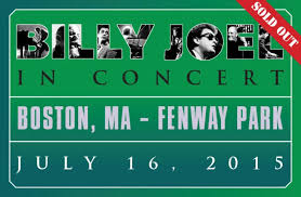 Fenway Park Concert Seating Chart Billy Joel Billy Joel Returns To Fenway Park Billy Joel Official Site