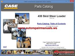 case 430 skid steer loader parts catalog auto repair manual case 430 skid steer loader parts catalog size 95 4mb language english type pdf