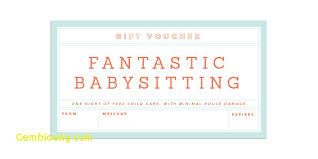 Printable Babysitting Coupon 13 800 X 400 Making The Web Com