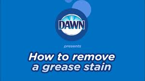 remove grease sns from clothes