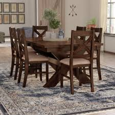 laurel foundry modern farmhouse isabell 7 piece dining set reviews wayfair
