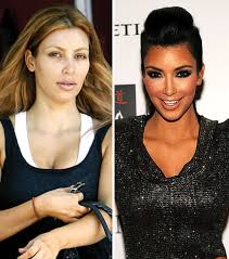 stars without makeup january 5 2010 kim kardashian