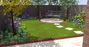 Small Picture Best Garden Patio Design Ideas Gardens Exciting Small Yard Design