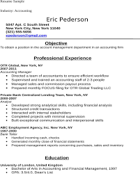 Accounting Student Resume Mesmerizing Best Accounting Graduate Resume Professional Resume Templates