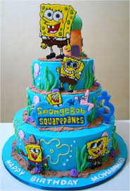 Birthday Cake With Spongebob