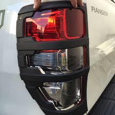 Ford Ranger Lights Stay On Ford Ranger Px Rear Light Cover Black Ford Ranger