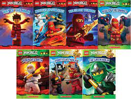 LEGO® Ninjago Reader Pack: 7 Book Set: #1: Way of the Ninja / #2: Masters  of Spinjitzu / #3: The Golden Weapons / #4: Rise of the Snakes / #5: A  Ninja's