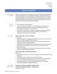 Senior Product Manager Job Description Template Resume Mind Mapping