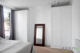Designs For Wardrobes In Bedrooms Inspiration Alcove Wardrobes Shaker Style Traditional Bedroom Other By