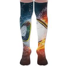 Lighting Socks On Fire Amazon Com Novelty Water Fire Lighting Baseball Casual