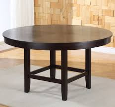delightful 54 round dining tables 20 table leaf
