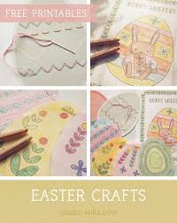 Check out more free easter printables including even more easter coloring pages, bible coloring pages if you don't see a letter from the easter bunny or easter coloring page design or category that you want. Printable Easter Activities For Kids Easter Crafts Free Download Templates