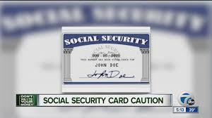 Caution Card Social Youtube - Security