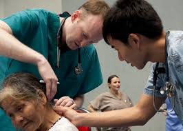 u s department of defense photo essay u s air force capt aaron goodrich examines a patient along republic of singapore air