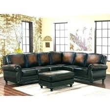 pottery barn leather sectional couch chesterfield r 3 piece l shaped pearce sectiona