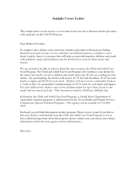 Cover Letter Food Service Resume And Cover Letter Resume And