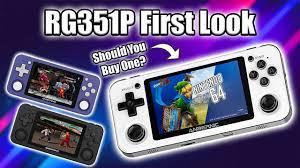 Máy chơi game RG351P - Phiên bản nâng cấp của huyền thoại RG350 - Tặng thẻ  64GB - Shop Game Tâm An
