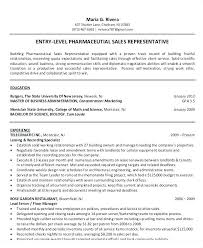 Entry Level Pharmaceutical Sales Resume Extraordinary Pharmaceutical Sales Rep Resume Template Examples 48 Netdevilzco