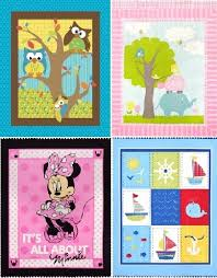 Baby Quilt Panel Cotton Fabric | To sew Baby Blankets | Pinterest ... & Baby Quilt Panel Cotton Fabric Adamdwight.com