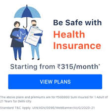 A brief overview of the top 10 health insurance companies. Best Health Insurance Plans In India 2021 Plans Start 315 Month