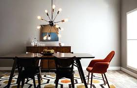 mid century modern room mid century modern dining room essentials sputnik chandelier mid century