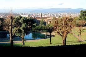 Firenze: veduta dallalto del giardino di boboli viaggi vacanze