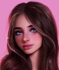 True beauty do consists in its simplicity ❤ | Digital art girl, Girly art,  Realistic art