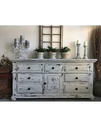 shabby chic distressed furniture. Large Farmhouse 9 Drawer Dresser Or Buffet Made By Broyhill Chippy White Distressed Furniture Shabby Chic