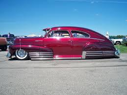 1942 Chevy Fleetline Aero Sedan - low, low, low...Love American ...