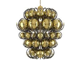 direct light crystal and stainless steel chandelier king by preciosa lighting