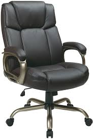 office star espresso eco leather big and tall computer chair supports up to 350 lbs