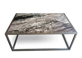 ... Coffee Table, Awesome Grey Rectangle Contemporary Granite Coffee Table  Design To Improve Your Living Room ...