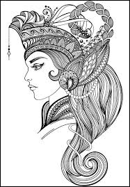 Small Picture 764 best Beautiful Women Coloring Pages for Adults images on
