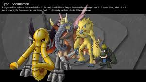 Digimon Masters Online Evolution Chart Sharmamon Digimon Masters Online Wiki Dmo Wiki