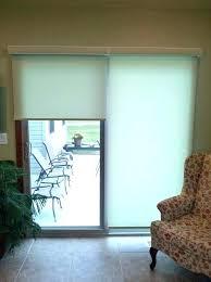 patio door shades best of rolling for sliding glass doors window treatments treatment bedroom