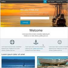 Templates For Websites Unique Foundation 28 Reasponsive Website Template Sailboat Free Website