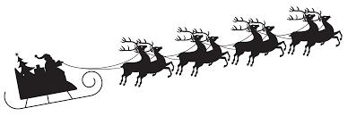 Image result for santa sleigh image