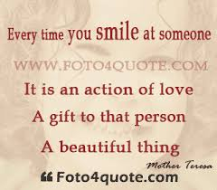 Beautiful Smile Quotes For Girl Best Of Smile Quotes Smile It Is An Action Of Love Foto 24 Quote