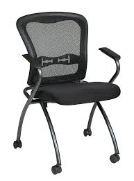 Office Chairs With Arms And Wheels Amazoncom Office Star Deluxe Breathable Progrid Back Freeflex