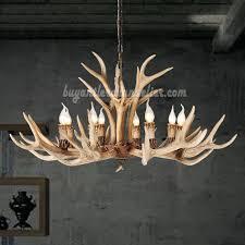 antlers chandelier 8 elk deer antler chandelier candle style eight cast cascade ceiling lights rustic lighting