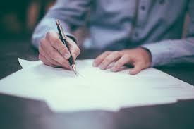 Image result for picture of people writing