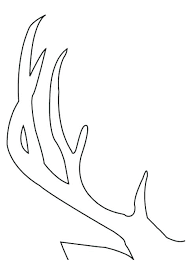 deer head template printable reindeer patterns images of com free pattern stag photos highest quality face