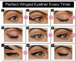 not sure how to apply liquid eyeliner here s a little tutorial to help you out