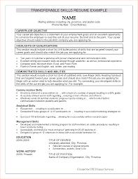 6 Resume Qualifications Quik Techsaz