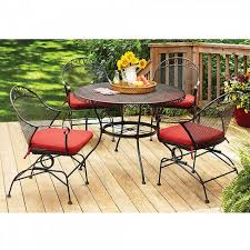 better homes and gardens clayton court piece patio dining set red outdoor cushion sets seats medium