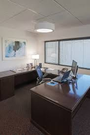 office lighting fixtures. Omnience Office Lighting Fixtures Above A Desk In Modern Private Design.